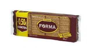 FORMA ΦΡΥΓΑΝΙΕΣ ΣΙΚΑΛΗΣ -0,50€16Χ4Χ90g