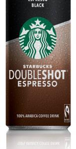 STARBUCKS DOUBLESHOT BLACK 200ML
