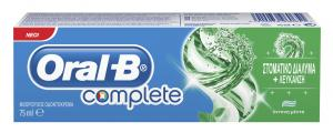 ORAL-B COMPLETE MOUTHWASH & WHTNING 75ML