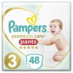 Pampers Premium Care Pants Μέγεθος 3 (6-11 kg), 48 Πάνες