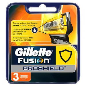 Gillette Fusion Proshield 3 Ανταλλακτικές Κεφαλές Ξυρίσματος