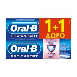 Oral-B Pro-Expert Sensitive Protect Οδοντόκρεμα 75ml + 75ml ΔΩΡΟ