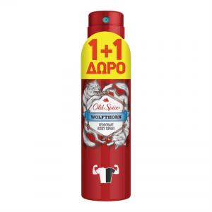 OLD SPICE DEO SPR WOLFTHORN 6X150ML(1+1 Δ)