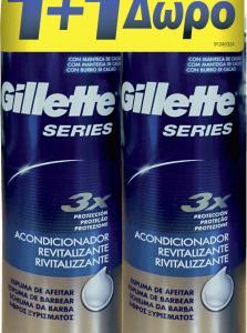 GILLETTE SERIES ΑΦΡΟΣ CONDITION (250+250ML ΔΩΡΟ)