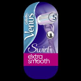 Gillette Venus Swirl Ξυριστική Μηχανή με τεχνολογία Flexiball (Μηχανή+1Ανταλλακτικό)