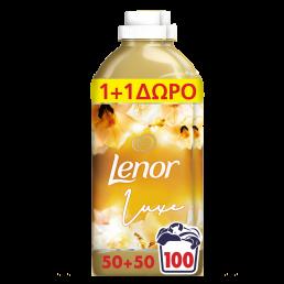 Lenor Gold Orchid Μαλακτικό Ρούχων 100 Μεζούρες, (50+50 μεζ δώρο), 2.3L